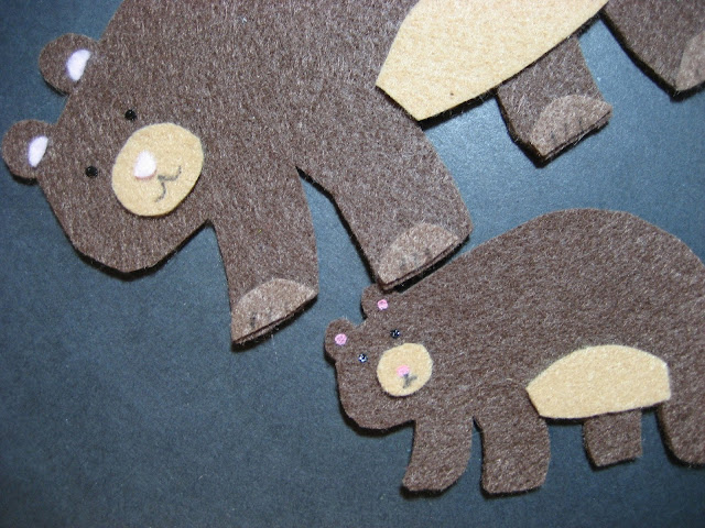 Flannel Board Fun Bears
