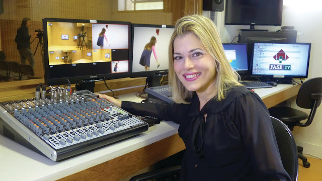 Jornalista Fátima Medeiros FMP/Fase