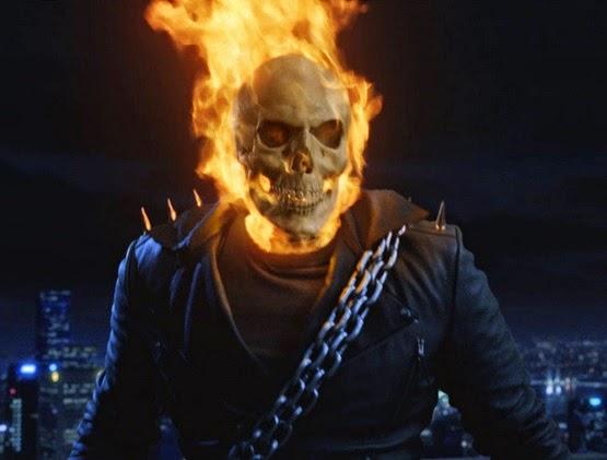 Gambar Jaket Ghost Rider Hitam