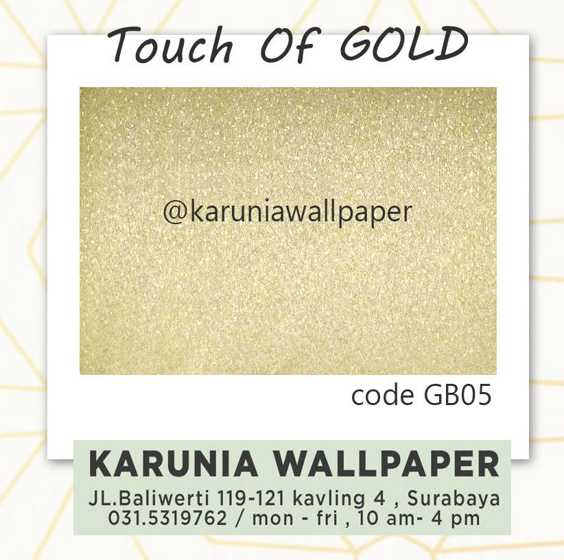 toko jual wallpaper dinding emas