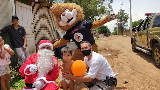 Ação de Natal da Brigada Militar beneficia 700 crianças em Gravataí
