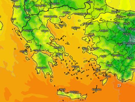 Ο καιρός αύριο στη Θεσσαλονίκη (8/11/2020)
