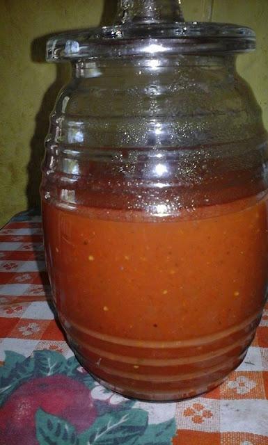 Salsa de Tomate para Pupusas