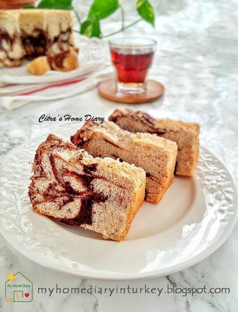 Banana Egg White Cake Recipe / Chiffon Cake Pisang dari Putih telur (Chiffon putih telur) | Çitra's Home Diary.