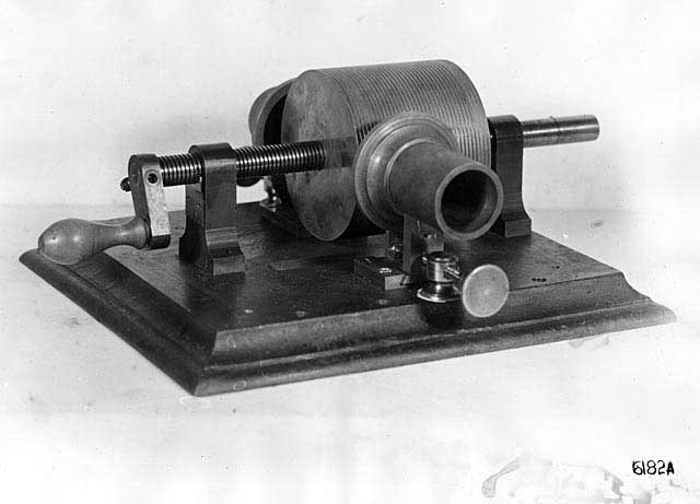 Thomas Edison Invented The Phonograph Today In 1877