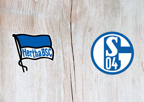 Hertha Vs Schalke