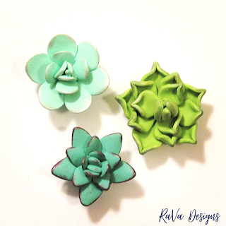 easy clay succulents magnet project ideas handmade crafts