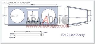 Skema Box Line Array 12″ Model E212