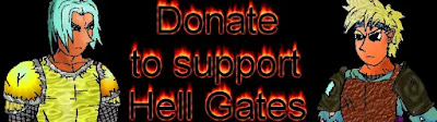 Donation banner fro Hell Gates