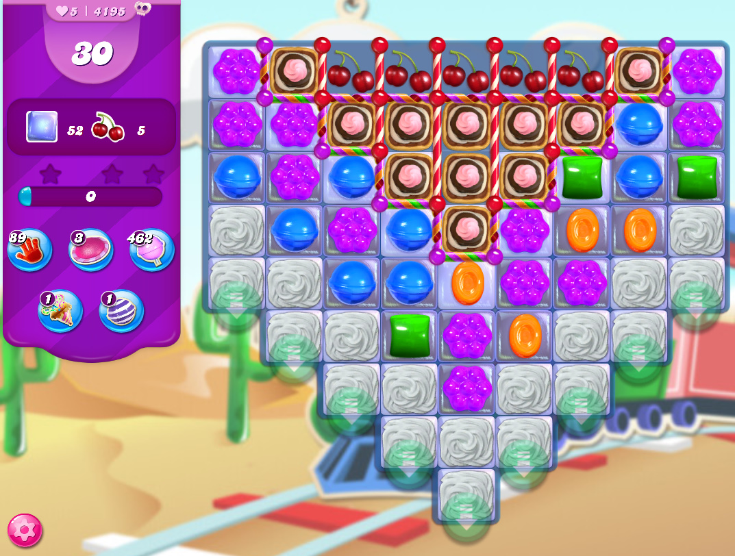 Candy Crush Saga level 4195
