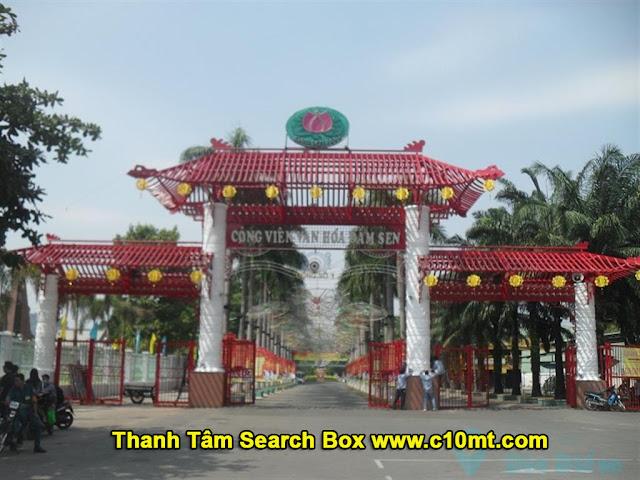 công viên văn hóa Đầm Sen TPHCM