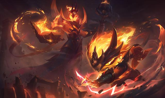 Infernal Kennen - Kennen Hỏa Ngục