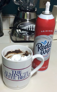 mug with whipping cream
