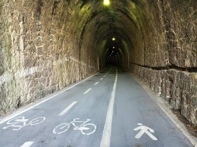 galleria ciclopedonale maremonti Framura