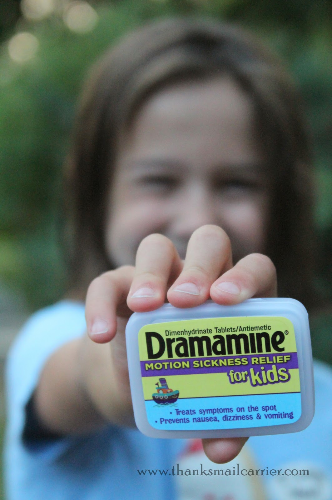 Dramamine for Kids motion sickness