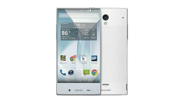 sh hadir dengan desain layar tanpa bezel yang menghasilkan tampilan yang luas dan jernih Spesifikasi Sharp Aquos Crystal 305sh