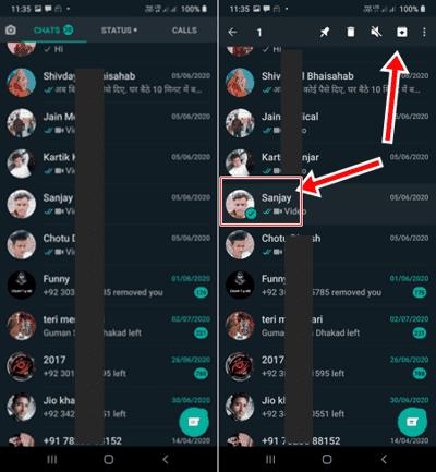 WhatsApp Chat Hide कैसे करे New Trick
