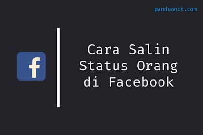 Cara Salin Status Orang di Facebook Tanpa Share di Aplikasi