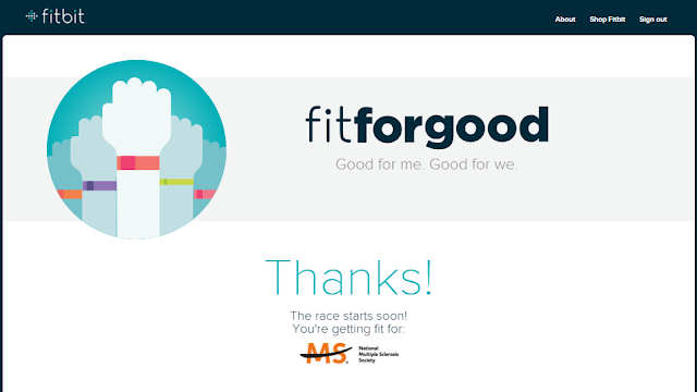 Fitbit Fit For Good Polished Lifting National Multiple Sclerosis Society