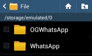 rename whatsapp folder