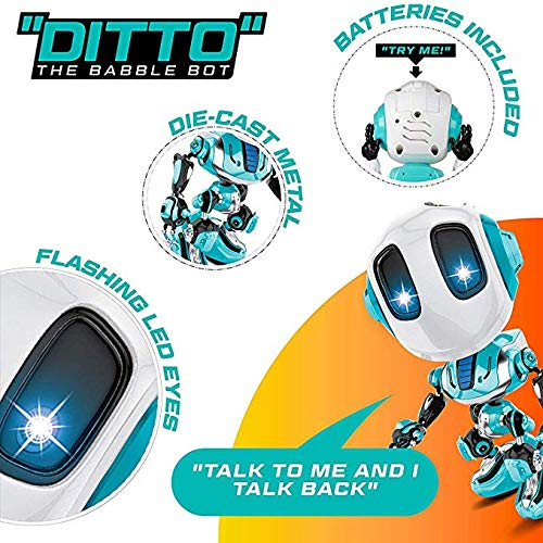 80% off Angoo Kids Voice Changer Recording Smart Robot Toys,