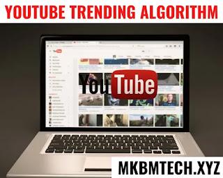 youtube trending algorithm