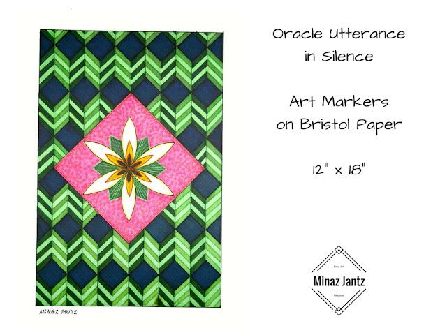 Oracle Utternace in Silence by Minaz Jantz