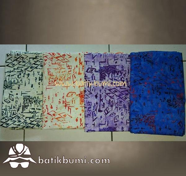 Batik Cap Maze Pattern series