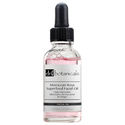 Moroccan rose superfood facial oil by dr. botanicals