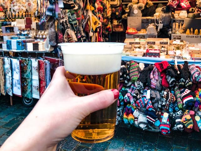 3 days in Prague at Christmas: £2 beer
