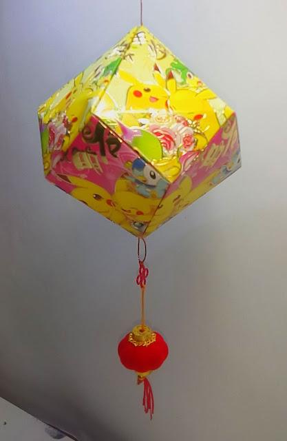 Lampion Intan Kertas Angpao