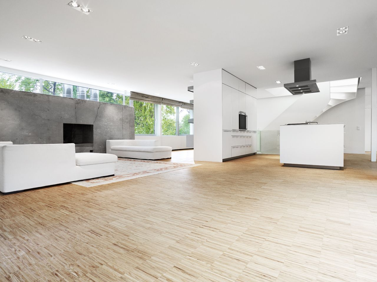 Wonderful White Living Room Interior Ideas