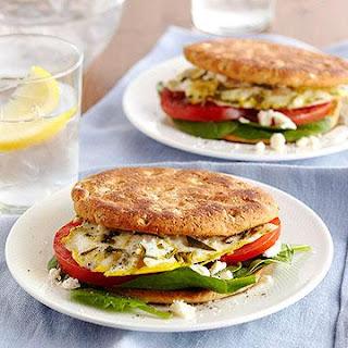 糖尿病飲食食譜-地中海早餐三明治