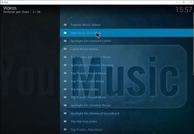 Tutorial - Instalar YouMusic Add-on Kodi
