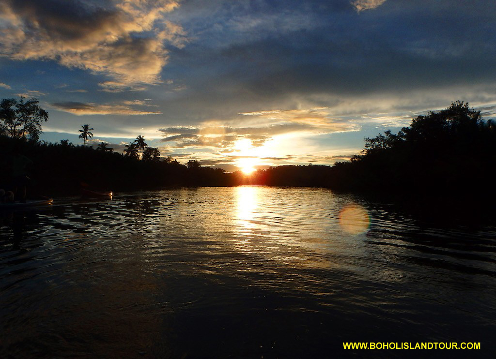 Bohol sunset view Kayaking tour