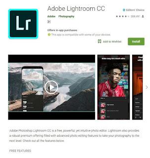 aplikasi edit foto terbaik dan terpopuler di samrtphone android