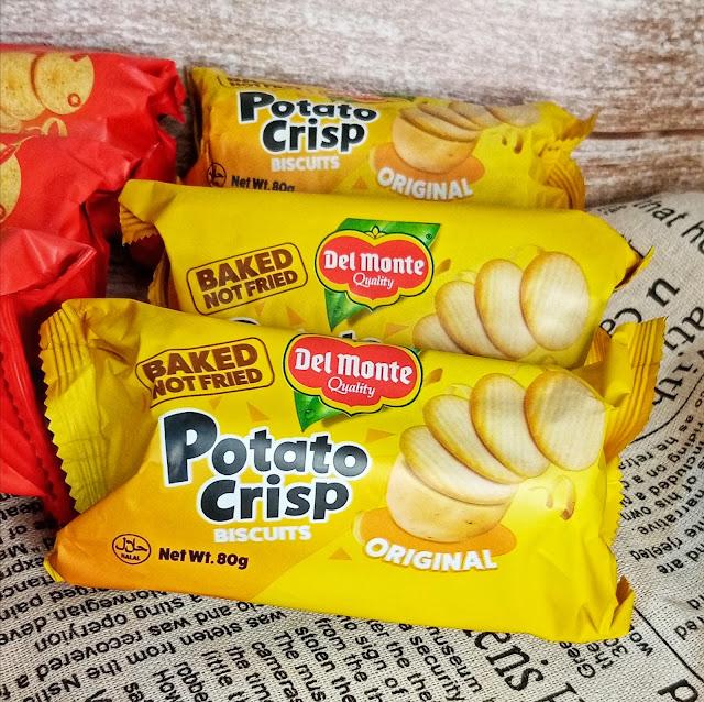 Del Monte Potato Crisp Biscuits - Original Flavor Bundle of 3