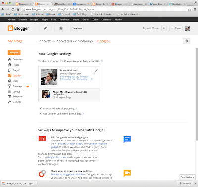 How to enable Google+ Comments on your Blogger blog.