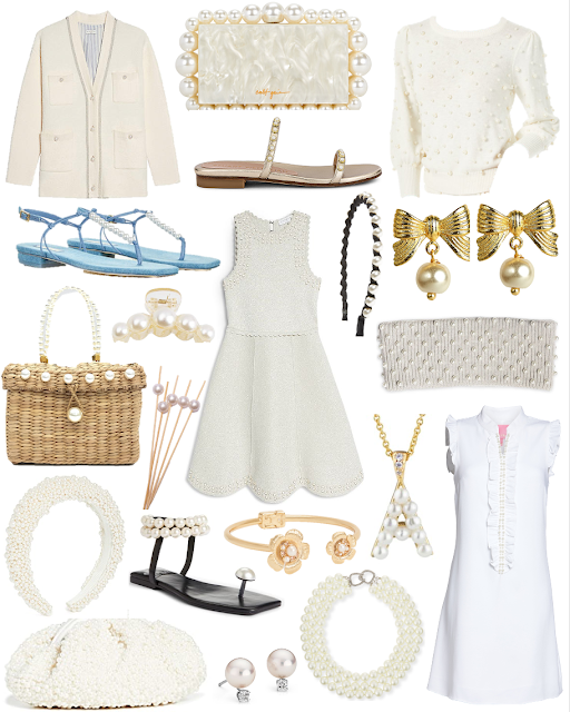 Pearl Embellished Clothing and Accessories