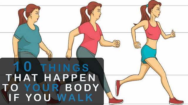 Things That Happen In Your Body When You Walk