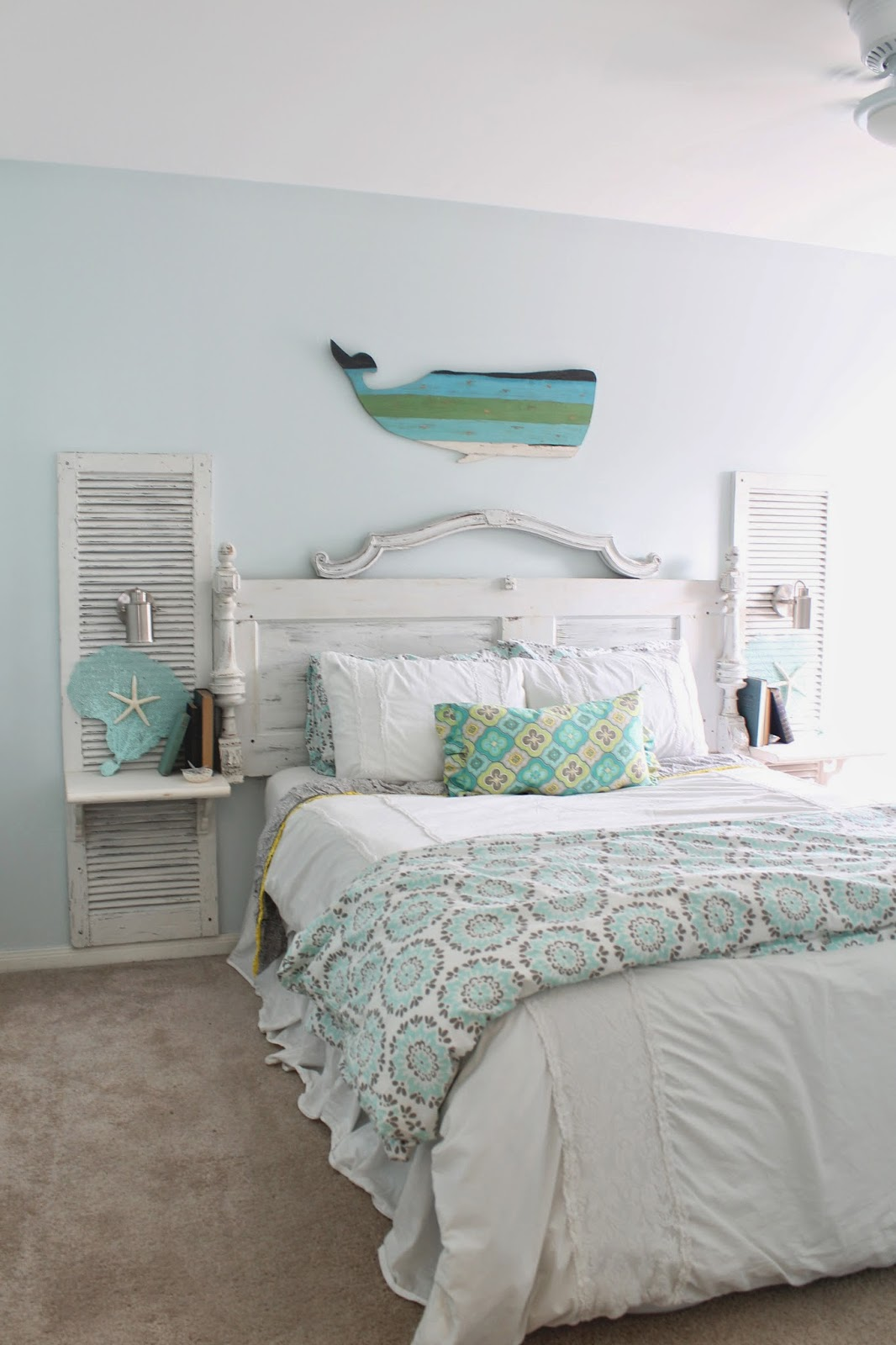 Coastal Bedroom: The Ragged Wren : Shabby-Beach Bedroom