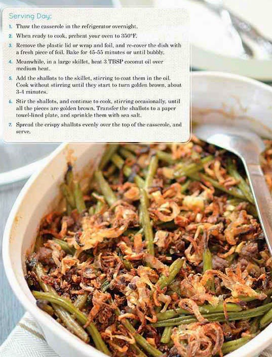 Creamy Beef & Green Bean Casserole with Pearl Onions