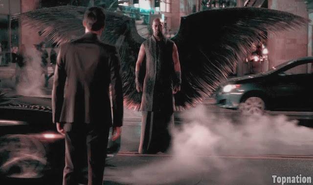 Lucifer Eating Amenadiel's Heart