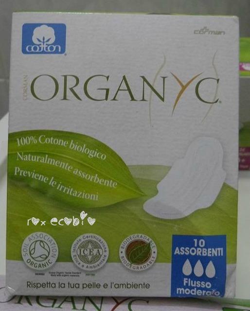 Organyc assorbenti esterni puro cotone biologico