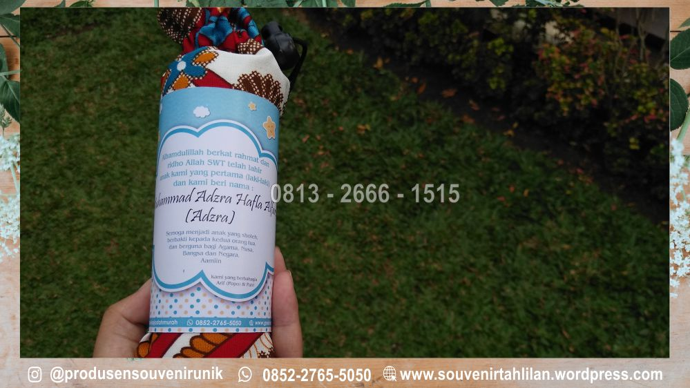 +62 813-2666-1515 | souvenir kelahiran bayi di kudus