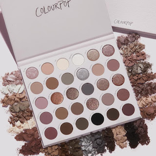 colourpop Stone Cold Fox Palette