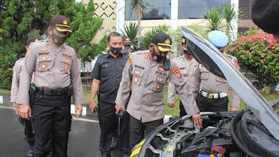 Apel Alkom dan randis Polresta Bandar Lampung