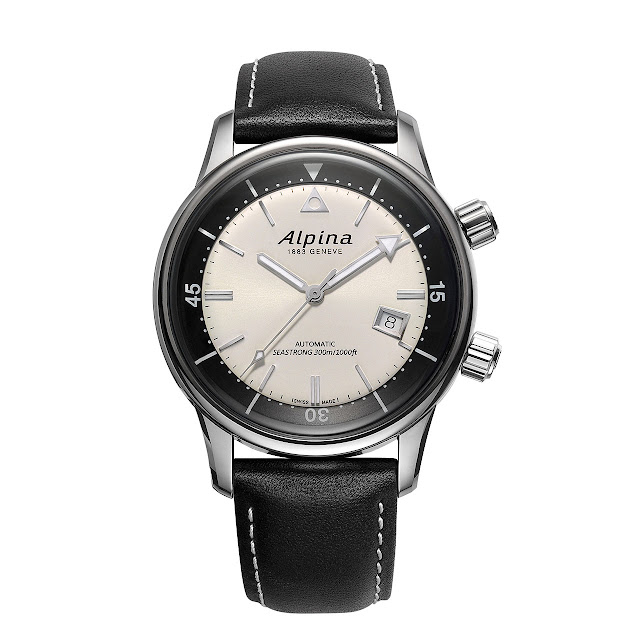 Alpina Seastrong Diver Heritage Mechanical automatic Watch