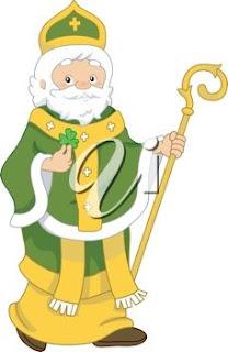 Saint Patrick was British