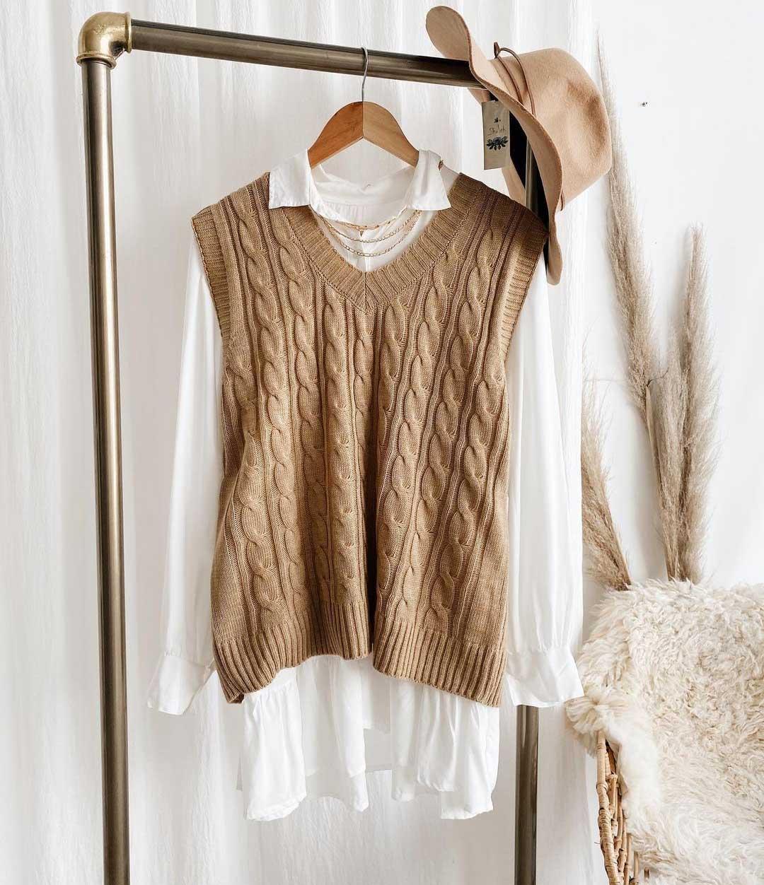 chalecos invierno 2021 moda ropa de mujer